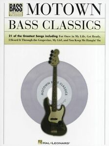 Details about Motown Bass Classics Bass Guitar TAB Learn to Play Soul Music  Book HITS SONGS