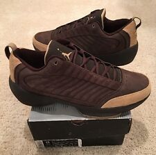 Nike Air Jordan 19 XIX Low Brown Suede Cinder British Khaki Size 15 New DS 2004