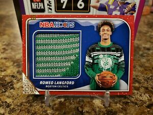 ROMEO-LANGFORD-NBA-HOOPS-ROOKIE-2-COLOR-CHRISTMAS-SWEATER-PATCH-BOSTON-CELTICS