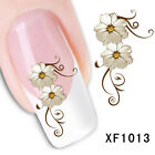 Nail Art Water Transfers Decals Sticker Flower Pattern Nail Decoration