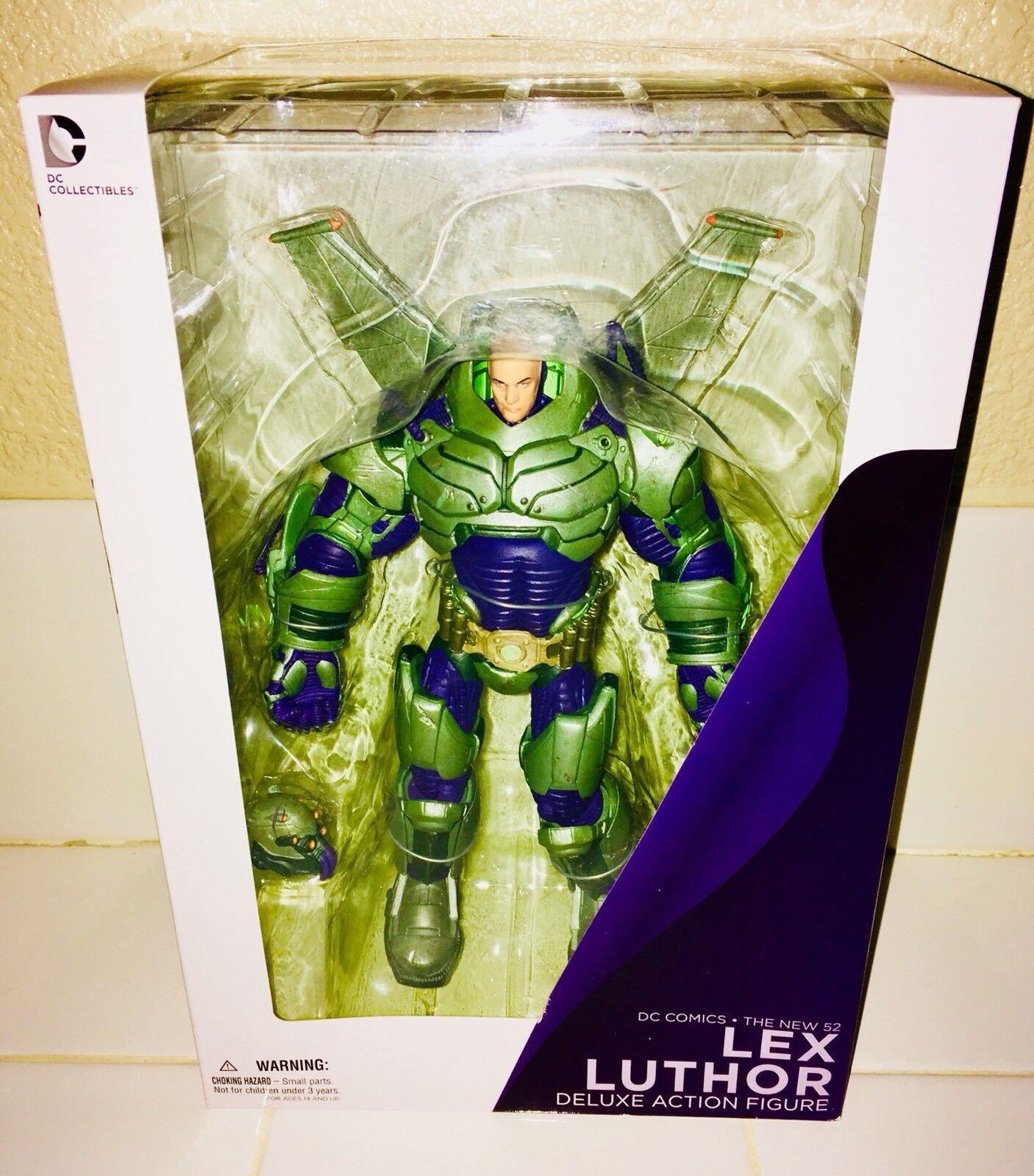 DC Nuevo 52 Lex Luthor Nuevo Sin Abrir-vendido difícil de encontrar