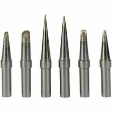 6pcs Replacement Et Soldering Iron Tips For Weller We1010nawesd51wes5051