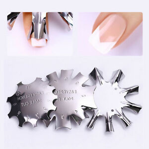3-Style-French-Manicure-Templates-Easy-French-Tips-Styling-Tools-Gel-Smile-Cut