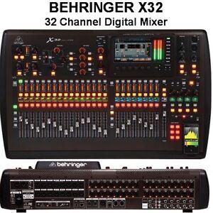 Presonus 32 Channel Digital Mixer BEHRINGER X32 DIGITAL FIREWIRE USB MIDI $50 INSTANT OFF ...