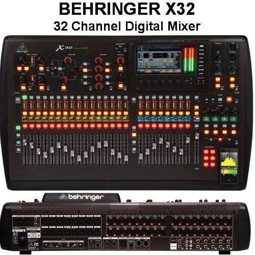Behringer Podcast Studio Firewire Digital Recording