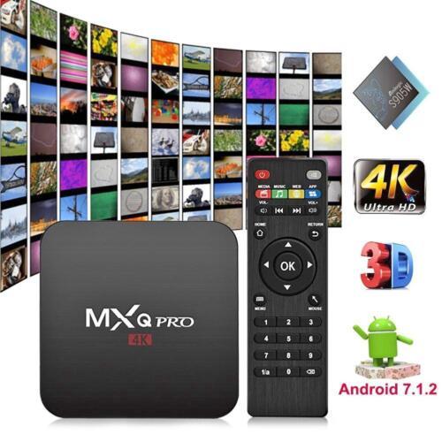 MXQ PRO Android 7.1 S905W Quad Core 1+8GB Smart TV Box WIFI Set-top Media Player