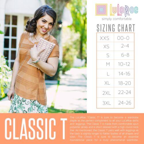 Small Stripes Teal S Yellow Lularoe orange Classic T Pattern Print Floral Shirt z4nqnxIa1
