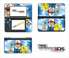 SKIN STICKER AUTOCOLLANT - NINTENDO NEW 3DS - REF 102 POKEMON