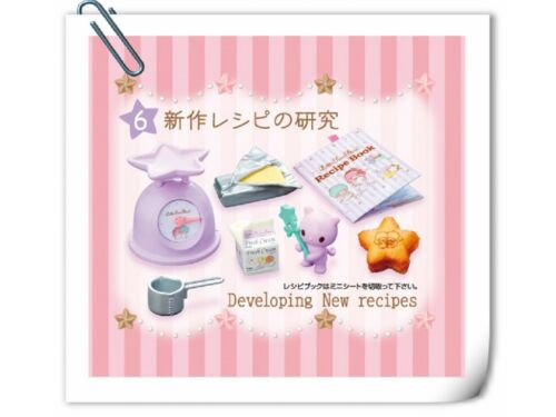 No.6 Re-ment Little Twin Star Twinkles Sweets Factory Kitchen Scale