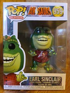 Funko Pop-TELEVISIONE-DINOSAURI-Earl Sinclair 959