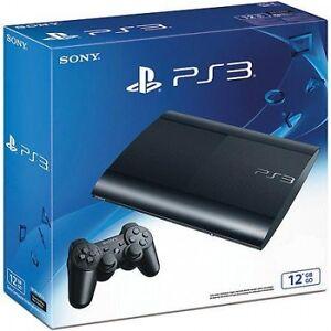 Console-Sony-PS3-SLIM-12-GB-nuova-sigillato-PS3-PAL-ITA-2-giochi-platinium