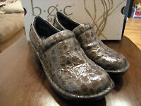 Brand Womens Gray Born Peggy Casual Shoes, Size 7 M