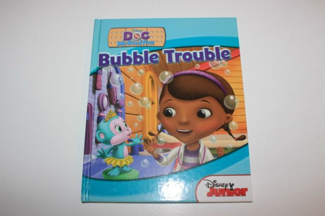 Disney Doc McStuffins Bubble Trouble Hardback