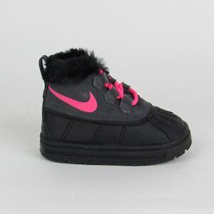 online store 2952c 983e0 Image is loading Nike-Woodside-Chukka-2-Boots-Black-Hyper-Pink-