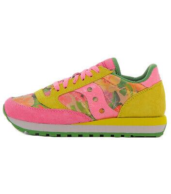 Detalles de SAUCONY scarpe sneaker donna JAZZ ORIGINAL edizione limitata S60450 2 fiori