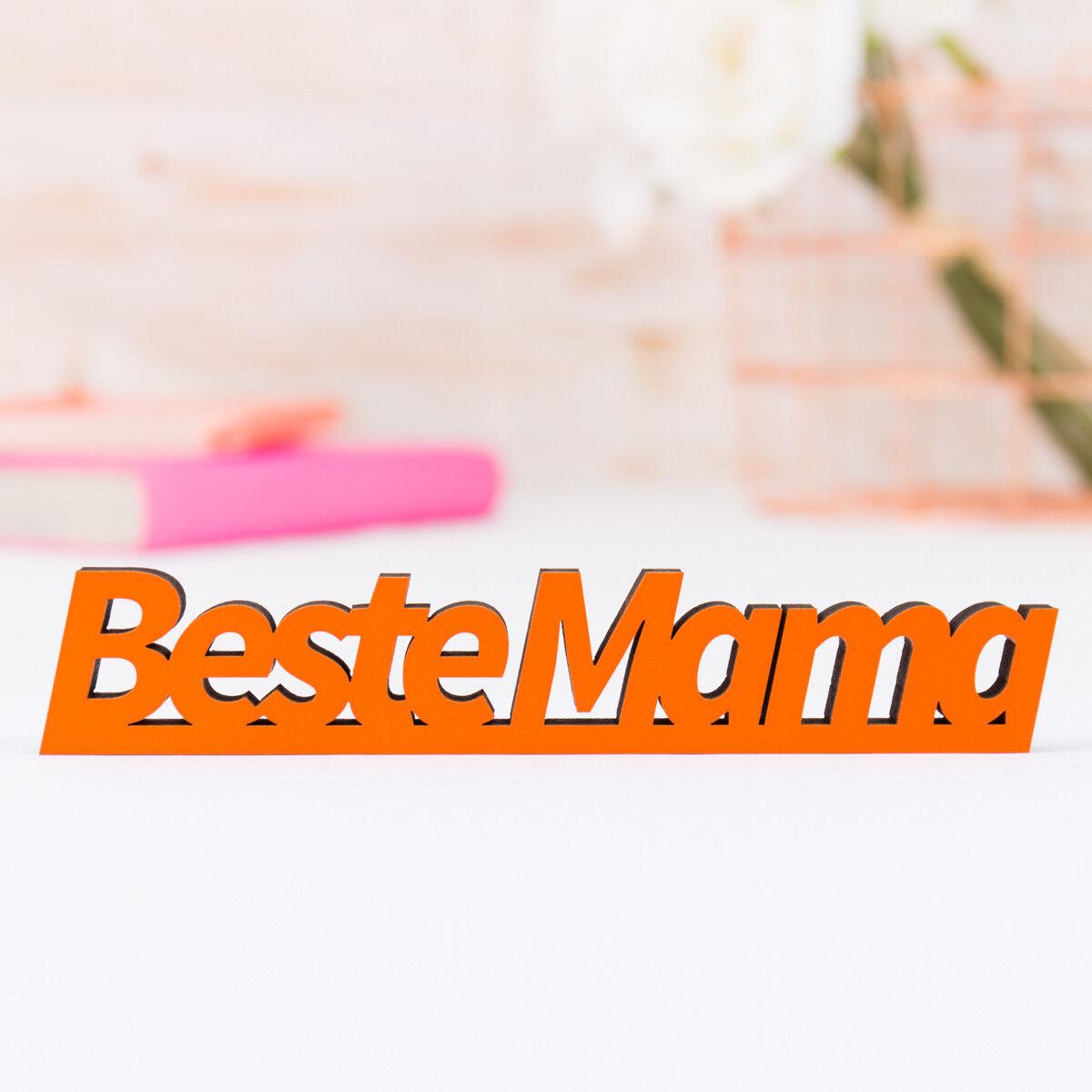 Secondo piccoli 3d-la scritta  MIGLIOR MAMMA MAMMA MAMMA  32 Coloreeei & 5 dimensioni idea regalo festa della mamma 568be9