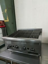 Rankin Delux Drb 25 Natural Gas Charbroiler Radiant 4 Zone 25 44000 Btu