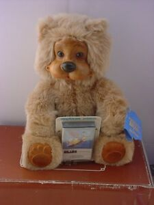 Robert Raikes Signed 1988 Kevi Bear With Kevin Roth Tape New In Box