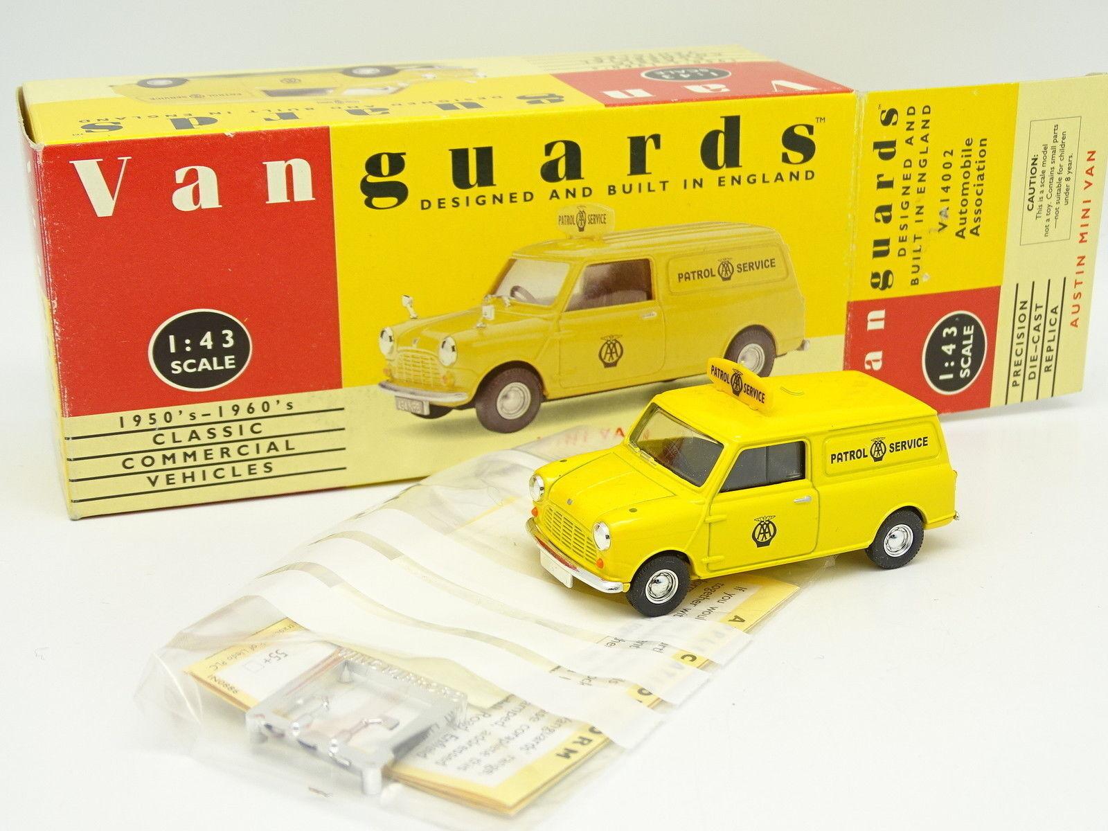 Vanguards 1 43 - Austin Mini Van Patrol Service