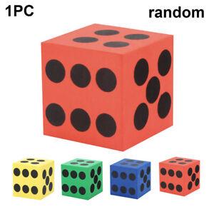 Foam-Dice-Six-Sided-Spot-Dice-Kids-Game-Soft-Learn-Play-Blocks-Toy-6-3cm-6-3cm