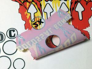 KISS-Pinball-Machine-Playfield-Insert-Decals-with-BONUS-AREA