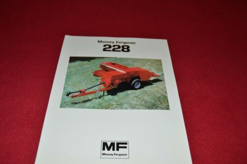 Massey Ferguson 228 Baler Dealers Brochure LCOH
