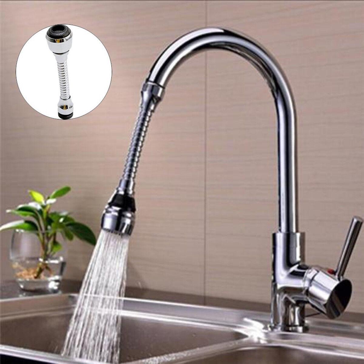Water Saving Nozzle Filter Adapter Inheming Flexible Faucet Sprayer Tap 360 /° Flexible Hose Extension Kitchen Sink Universal Faucet Aerator