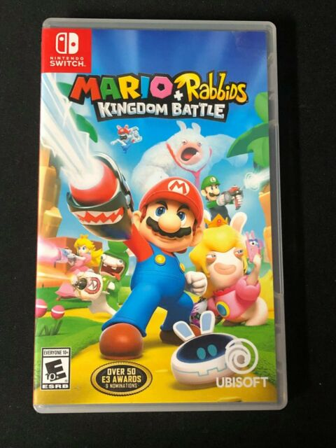 Mario + Rabbids Kingdom Battle (Nintendo Switch, 2017) Good