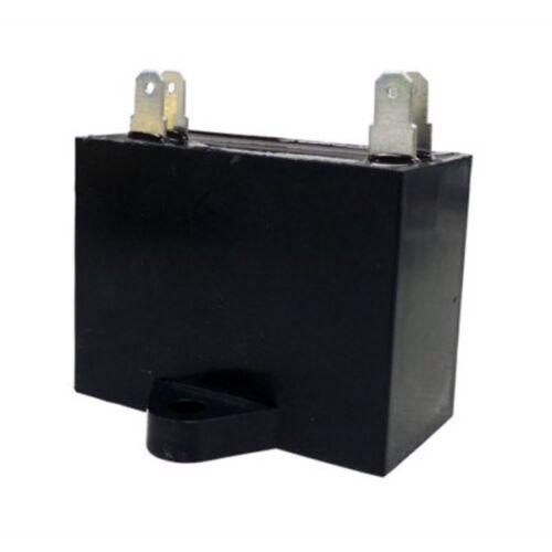 2.5 uF MFD x 450V Mini Split Capacitor Start-Up and//or Run 4 Terminal 50//60HZ