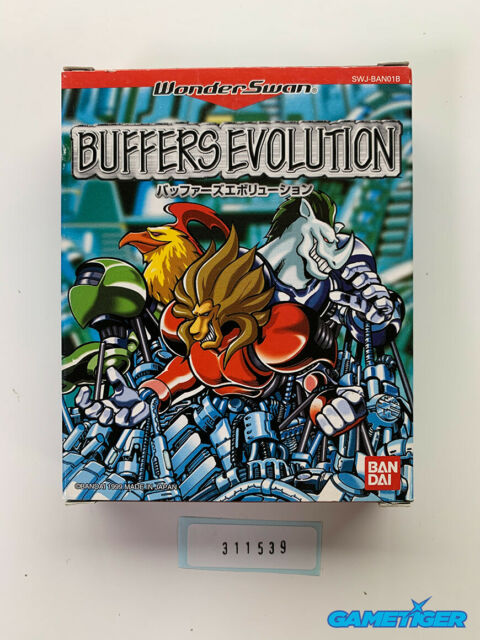 BUFFERS EVOLUTION Bandai Wonderswan JAPAN Ref:311539