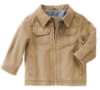 Gymboree Baby Toddler Boys 12-24 Mos Khaki Cotton Jacket