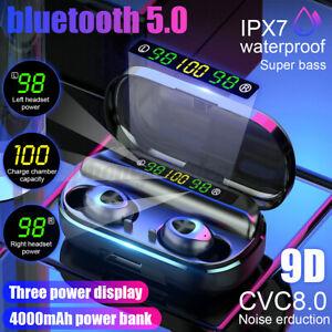 4000mAh-bluetooth-5-0-TWS-Headset-Wireless-Headphone-Stereo-Earphones-Earbuds-X