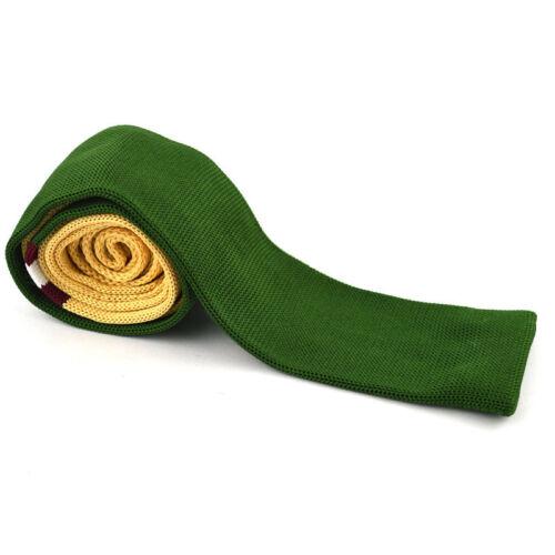 Fashion Men/'s Colourful Tie Knit Knitted Tie Necktie Narrow Slim Skinny Woven t