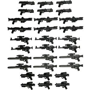 LEGO-Star-Wars-Guns-Lot-of-30-Blasters-Clone-Trooper-Storm-Trooper-Rebel-Weapon