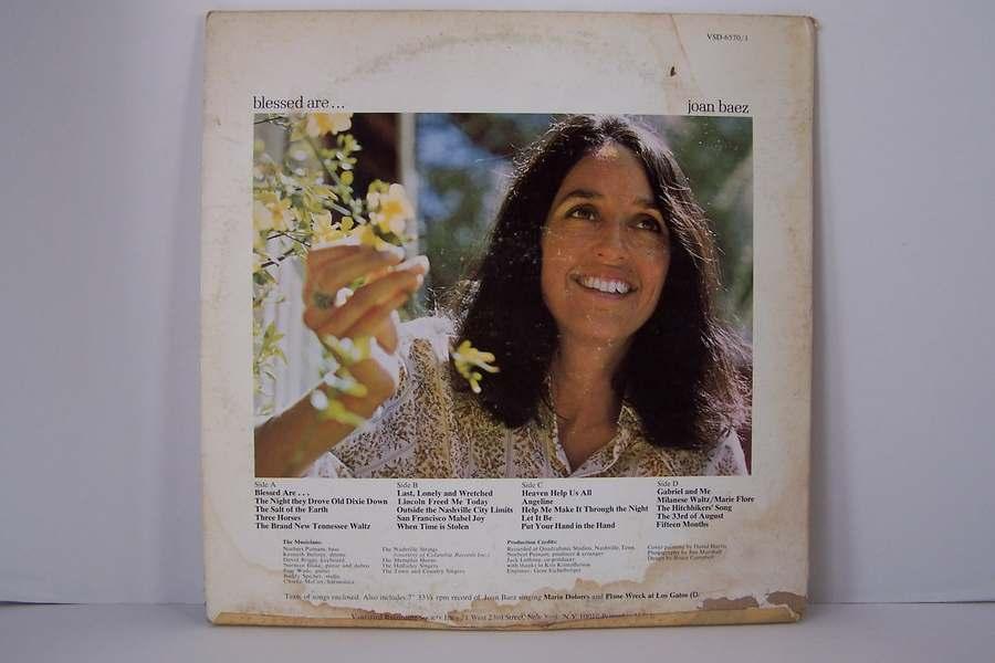 Joan Baez - Blessed Are... Vinyl LP Record Album VSD 65