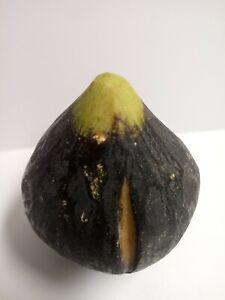 Alabaster Stone Marble Black Fig Fruit  Italy