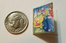 Miniature dollhouse Disney Princess book Barbie 1/12 Scale Belle  Cinderella