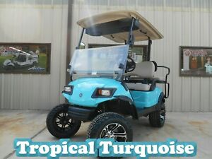 Sale 2015 Custom Yamaha Drive Gas Custom Golf Cart 4 Seater Ezgo