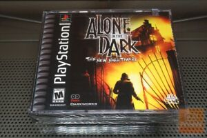 Alone In The Dark The New Nightmare Playstation 1 Ps1 Factory