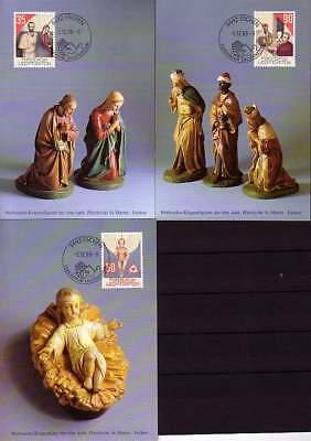 Ausdrucksvoll Liechtenstein Mk 85 Michelnummer 954-956 europa:15475 Briefmarken