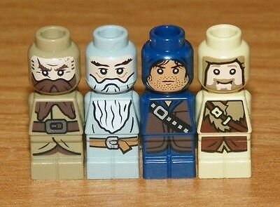 L4 LEGO The Lord of The Rings Gandalf the Grey Minifigure Sets 79003 79010