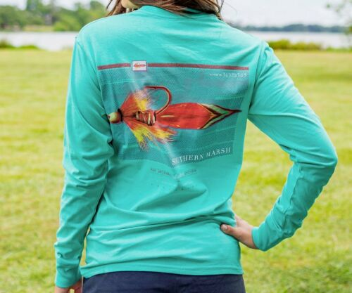 Long Sleeve Men/'s 3 Southern Marsh Outfitter Series Tee