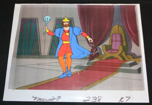 HeMan Painted Art Cel with Xerox Background King Randor MU 29 238 K7