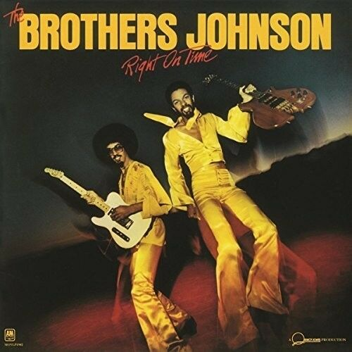 The Brothers Johnson - Right on Time [New Vinyl LP] Holland - Import