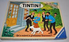 TINTIN Qui a enleve le Professeur Tournesol? BOARD GAME Ravensburger 1987