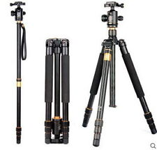 New professional Carbon Fibre folding Tripod Q999 Tripod / Monopod for Camera