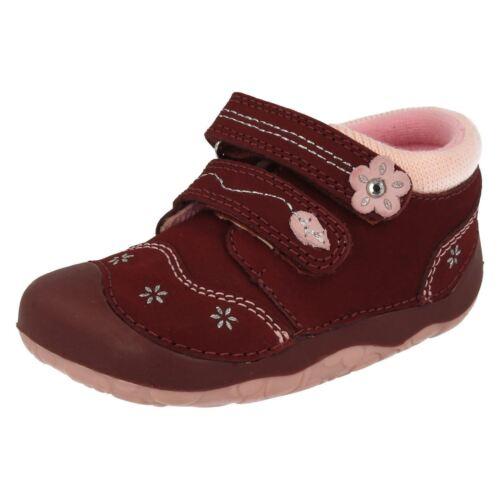 Start Rite Girls Bugundy Pixie Cruiser//Pre Walker Shoes