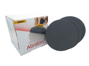 150mm MIRKA Abralon Wet or Dry Polishing Foam Sanding Discs //// 180-4000 GRIT