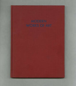 1934 Alfred Barr + Philip Johnson MODERN WORKS OF ART