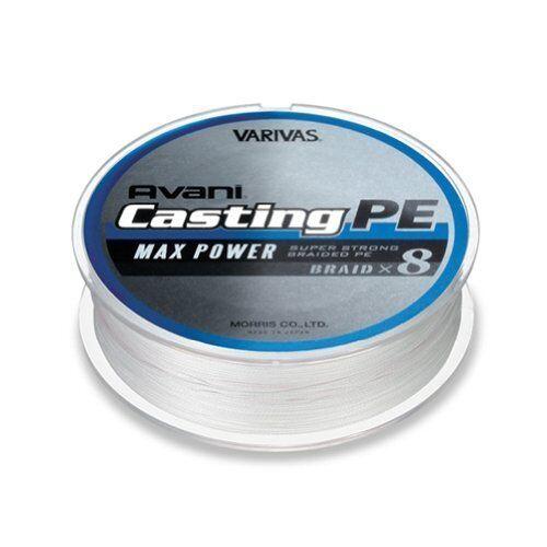 MORRIS PE Line VARIVAS AVANI Casting MAX POWER 300m  2.5 MAX40lb  Fishing Line